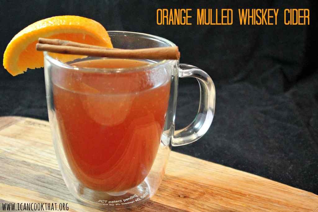 Orange Mulled Whiskey Cider