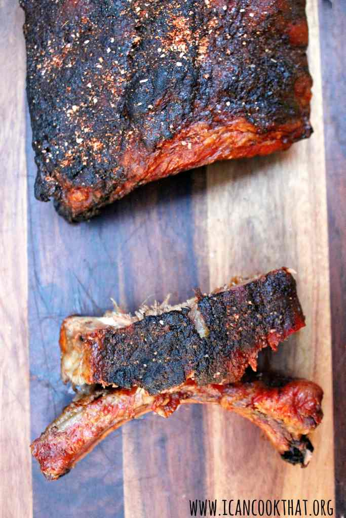 Memphis-Style Grilled Ribs