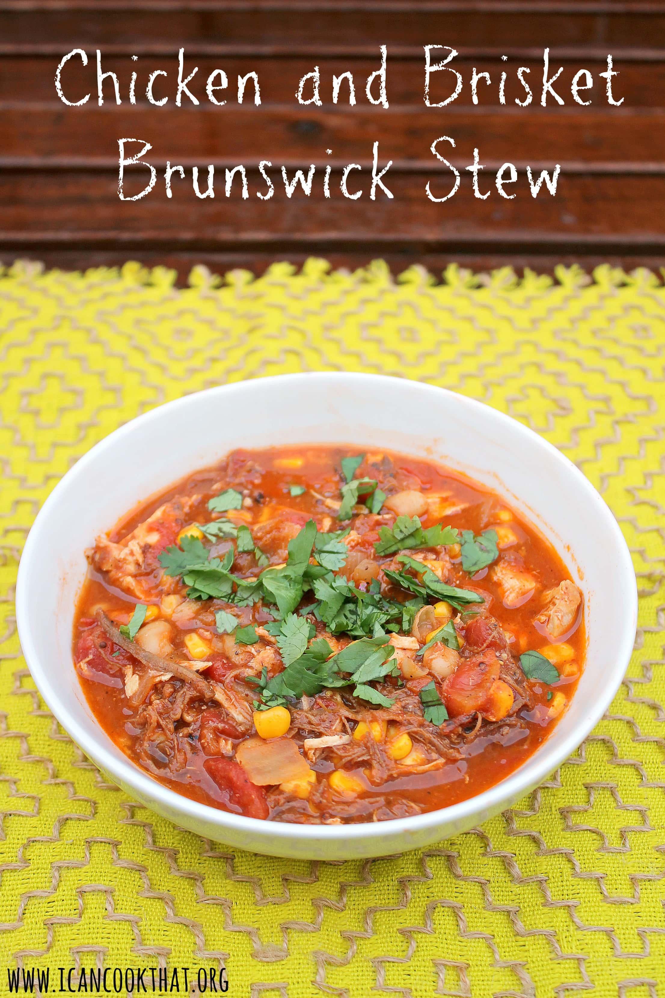 Chicken and Brisket Brunswick Stew