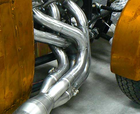 cutom exhaust headers
