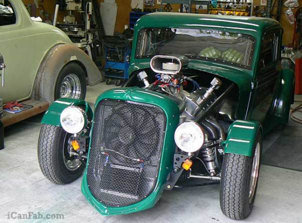 The coolest Hot Rod build east of the Mississippi