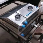 fuel tank and oil tank custom