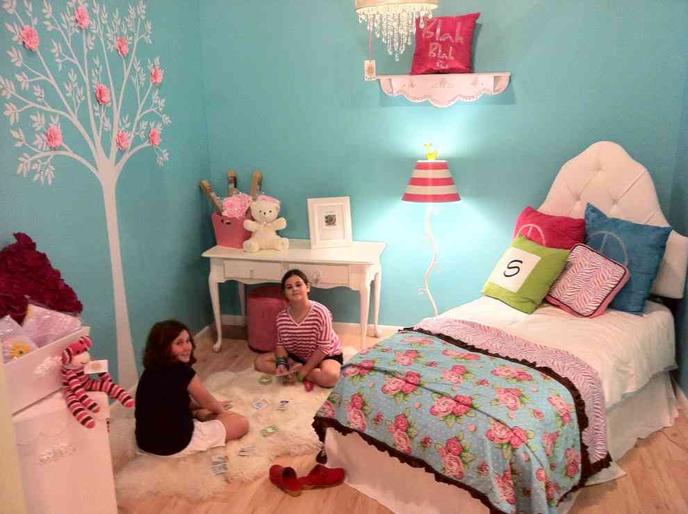 See our favorite white bedrooms and browse through our favorite white bedroom pictures, including white bedroom furniture, white decor, and more. Girls Teal Bedroom - Decor Ideas