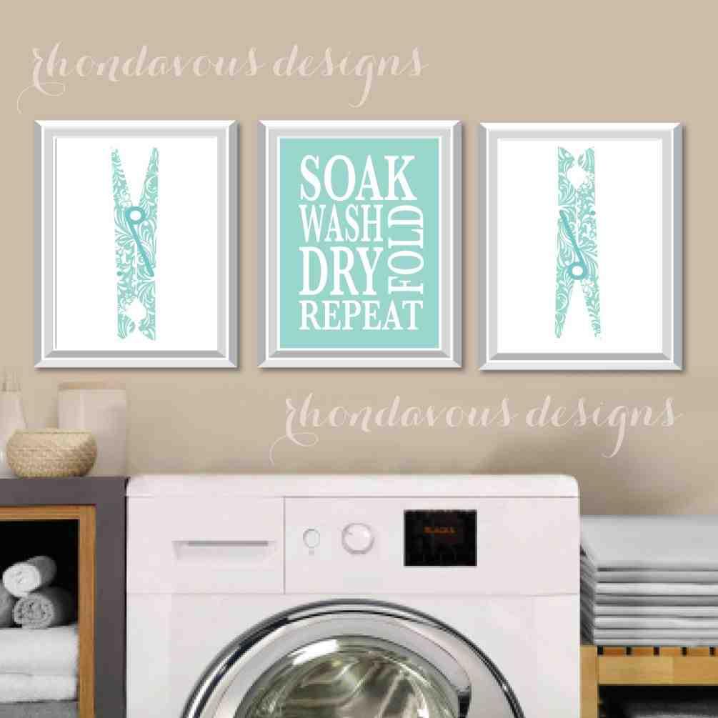 laundry room wall art decor decor ideasdecor ideas on laundry room wall covering ideas id=87992