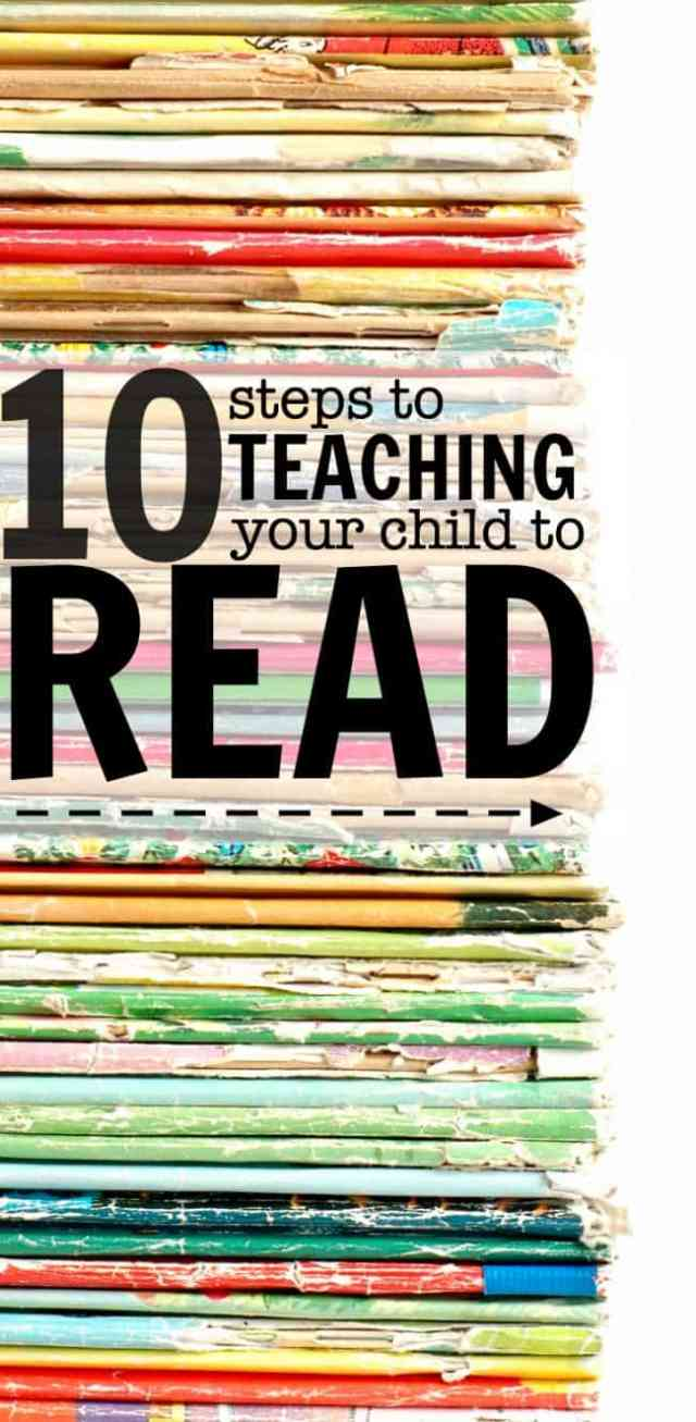 How To Teach A Child to Read In 30 Easy Steps - I Can Teach My Child!