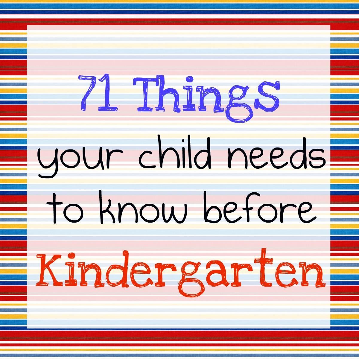 Walsh Elementary School Kindergarteners