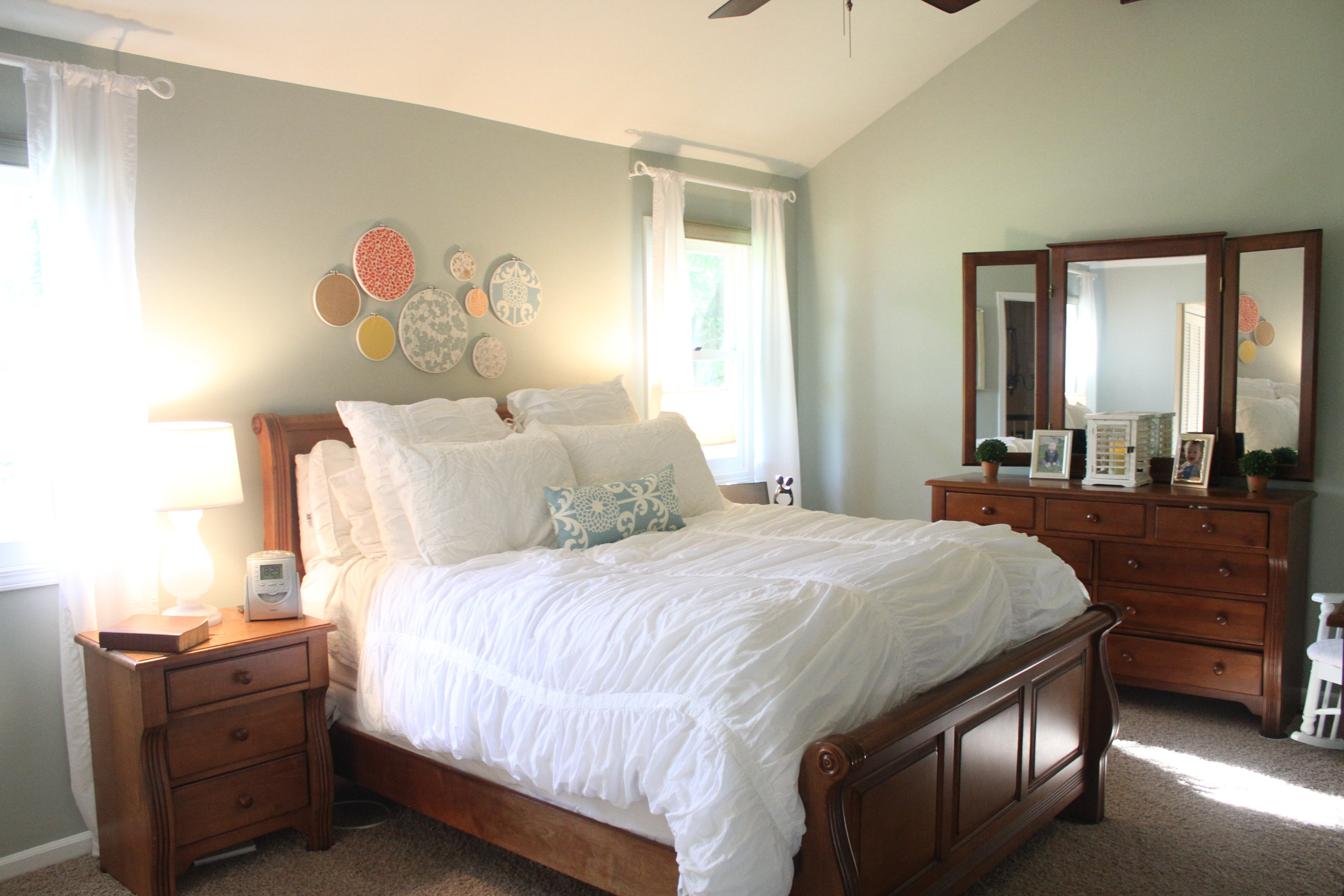 Room Makeover with Sherwin Williams Comfort Gray on Comfortable Bedroom Ideas  id=24678