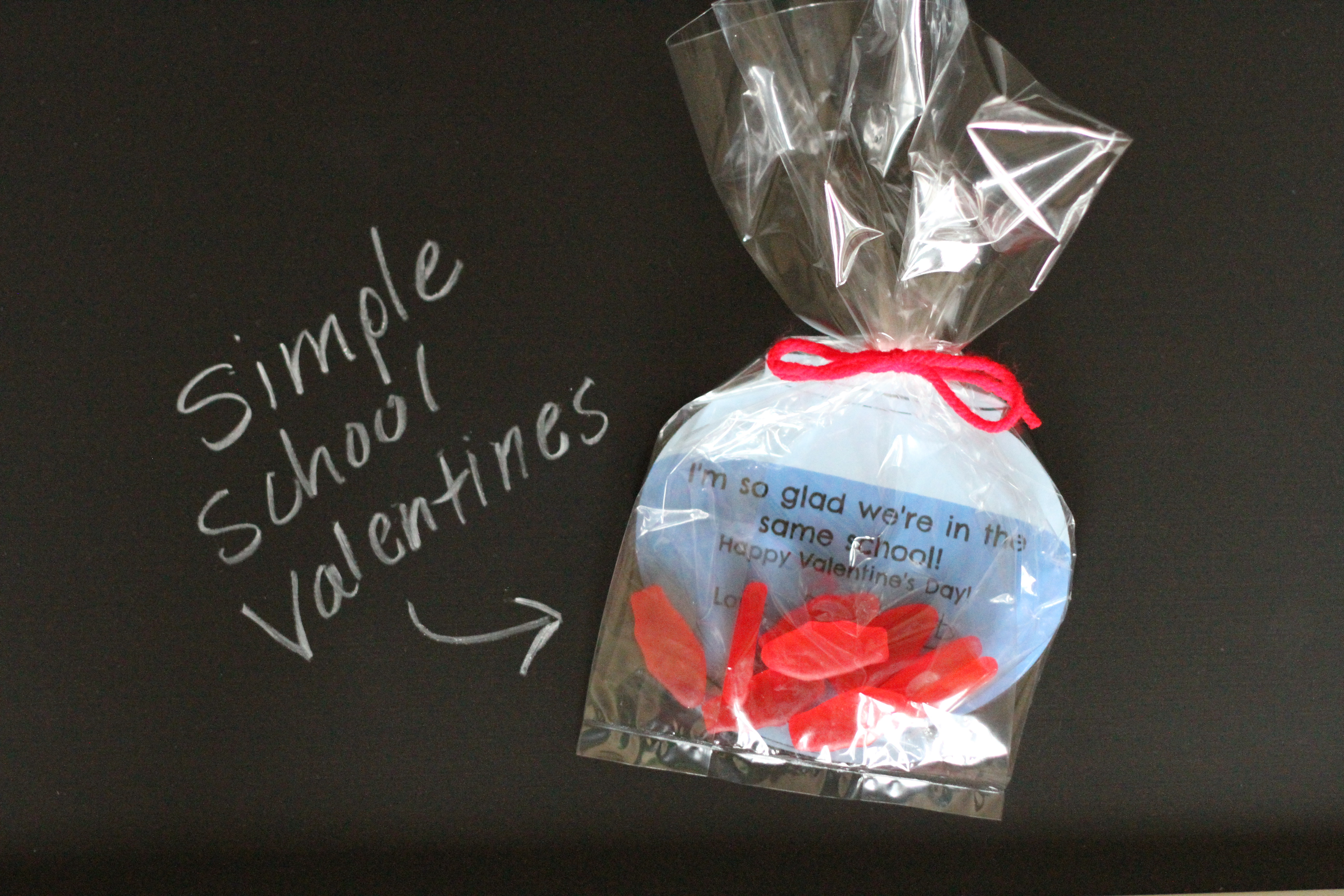 I M So Glad We Re In The Same School Valentines