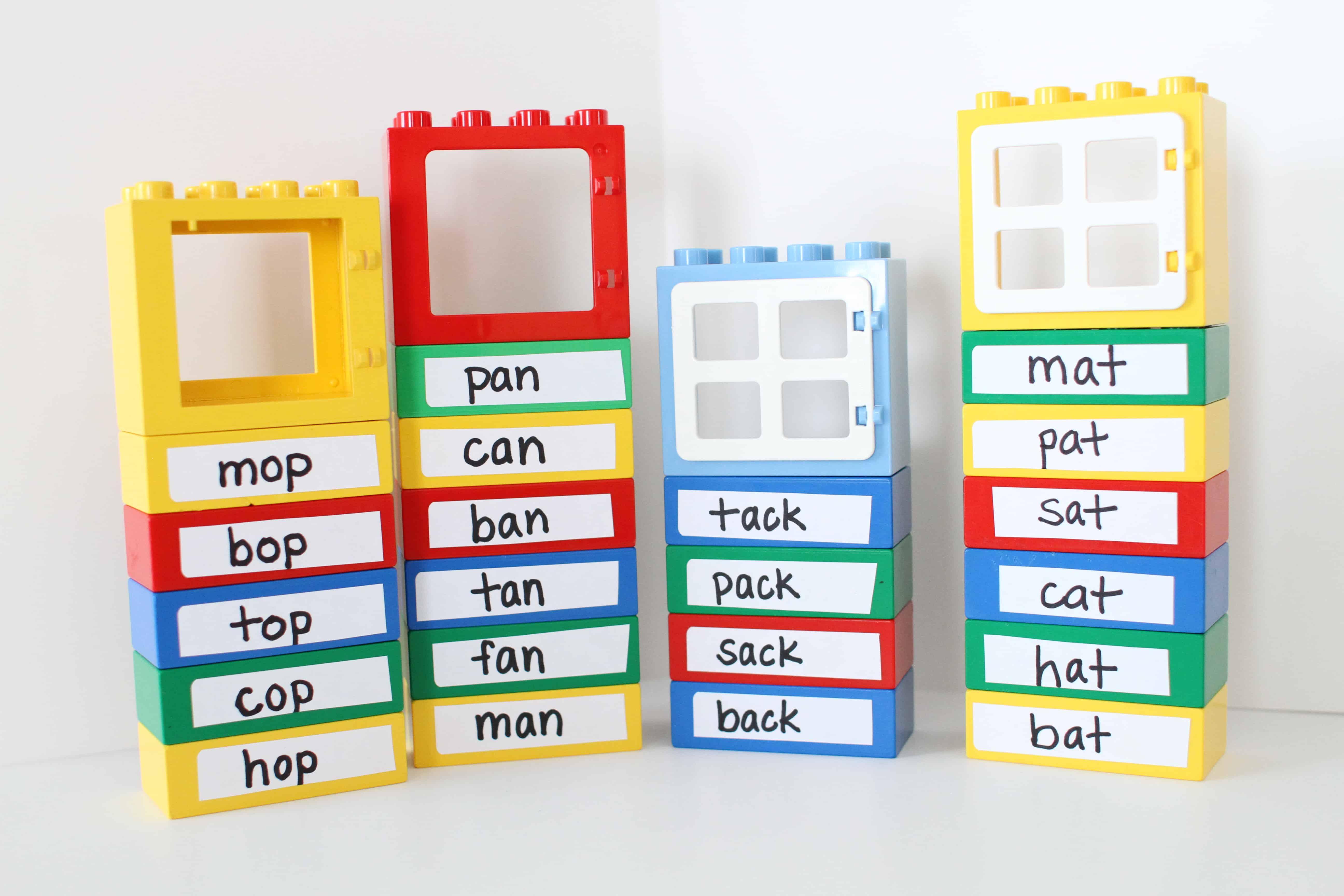 Word Family Lego Buildings