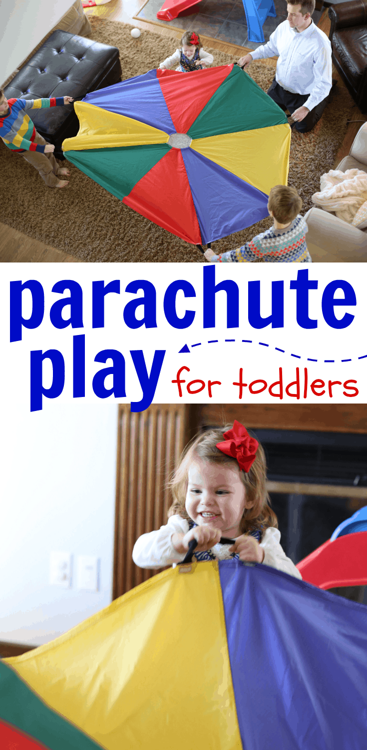 Parachute Play For Toddlers I Can Teach My Child