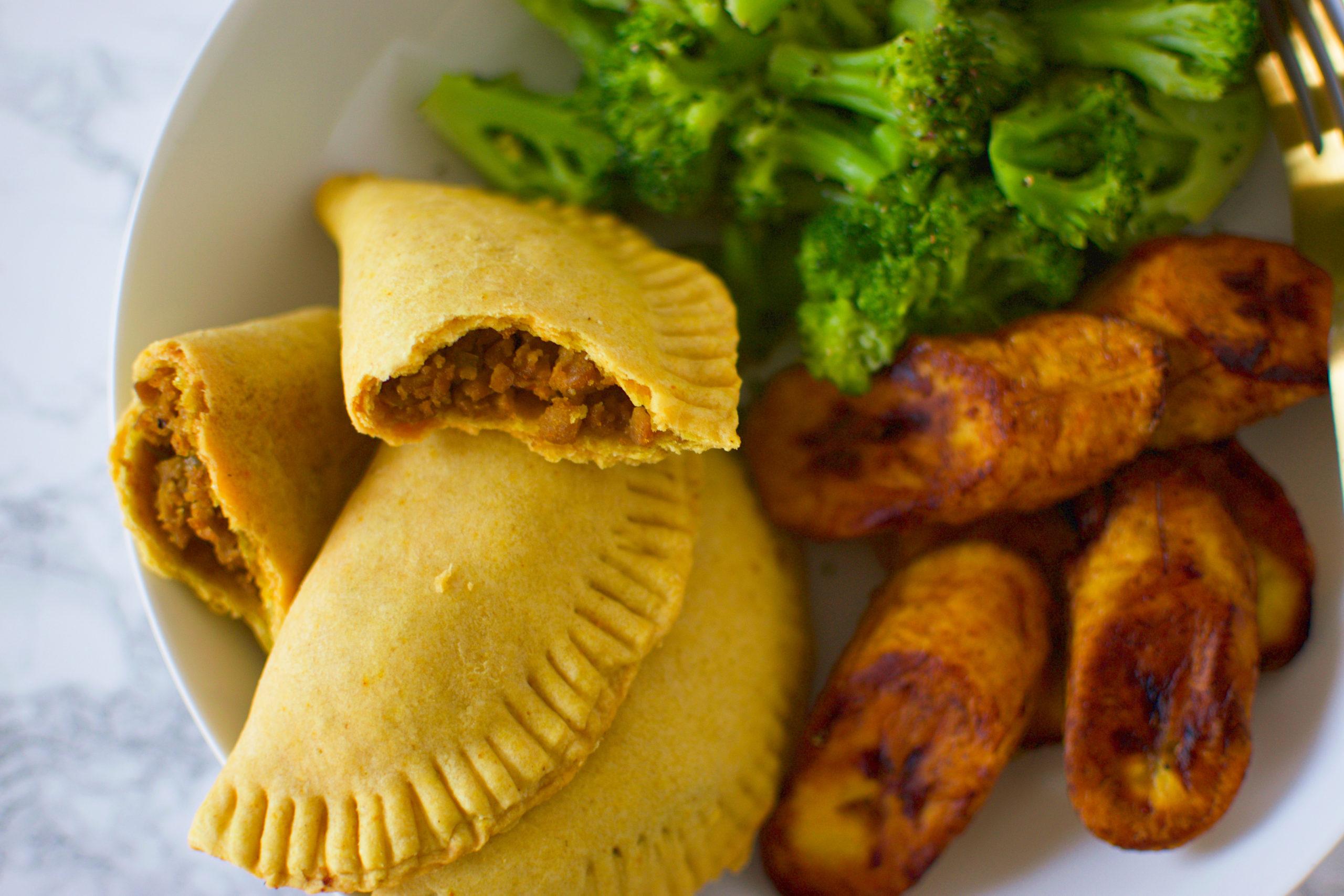 vegan jamaican beef patties  icanyoucanvegan