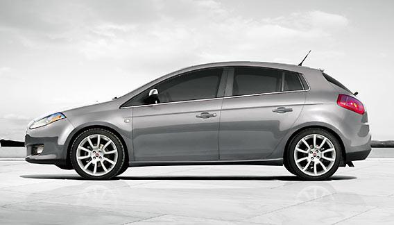 De nieuwe Fiat Bravo Editione ING in de bijzondere muisgrijze kleurstelling