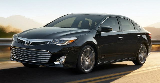 2015 Toyota Avalon Black