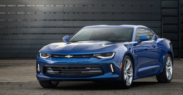2016 Blue Chevy Camaro