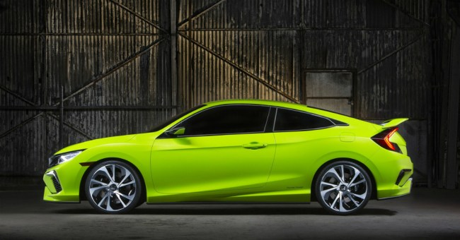 2016 Bright Green Honda Civic