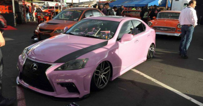 Pink Lexus