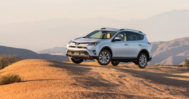 A better price for the Toyota RAV4 SUV you love to drive.