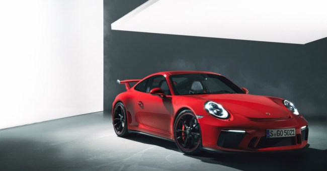 2018 Porsche 911 Uniquely Recognized