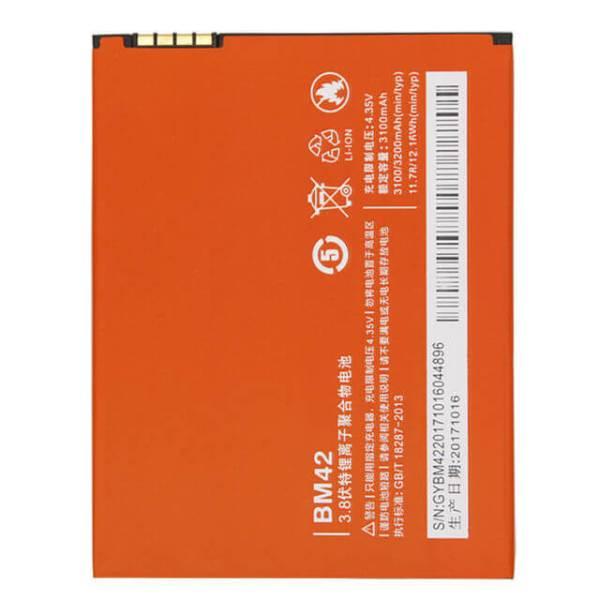 Original Xiaomi Redmi Note 4g Battery Replacment 3100mAh BN42