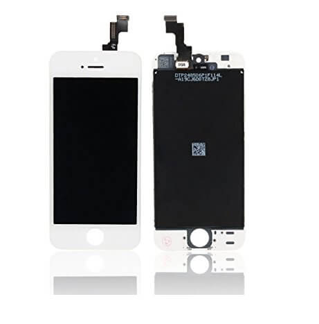 original apple iphone se lcd screen replacement combo white
