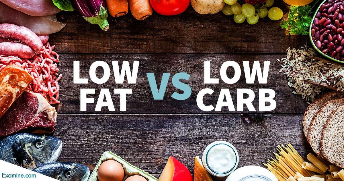 低脂飲食 vs 低碳飲食 哪個對減重效果好呢?