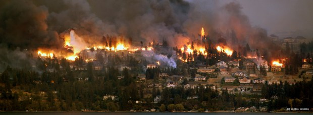 August 22nd, 2003 - 17:52 PST Kelowna Firestorm!