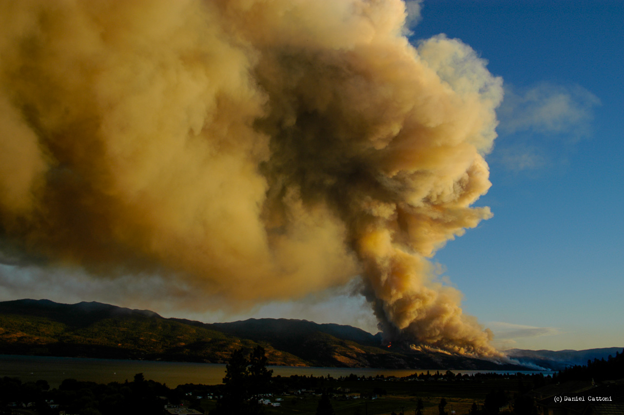 The Okanagan Mountain Fire August 16th, 2003 to September 20th, 2003