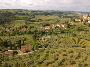 Panorama I Casalini Agriturismo in Toscana