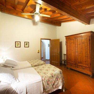 Camera con 2 letti singoli o matrimoniali