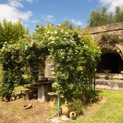 Jardin historique I Casalini agritourisme en Toscane