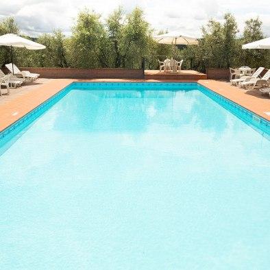 Schwimmbad I Casalini Bauernhaus in der Toskana