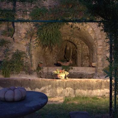 Historical garden I Casalini farmhouse in Tuscany