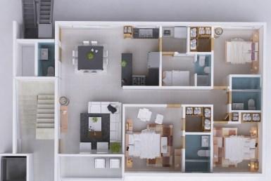 Apartamentos proximos a la Av. 27 de Febrero