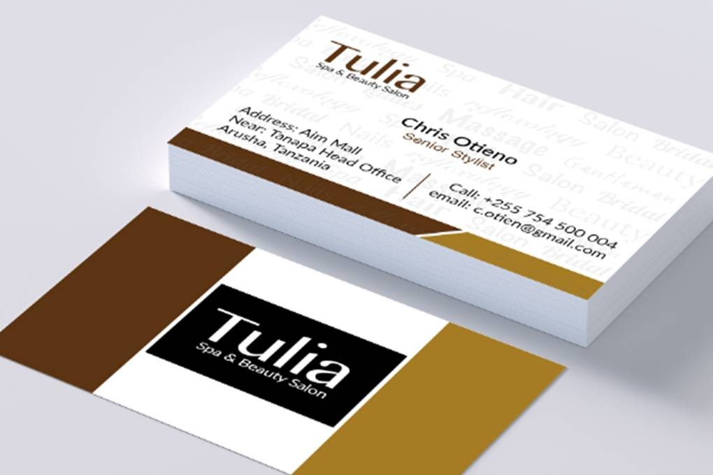 Business cards, beauty, salon, spa