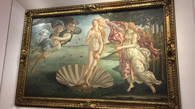 フィレンツェのウッフィツィ美術館に行ってきた