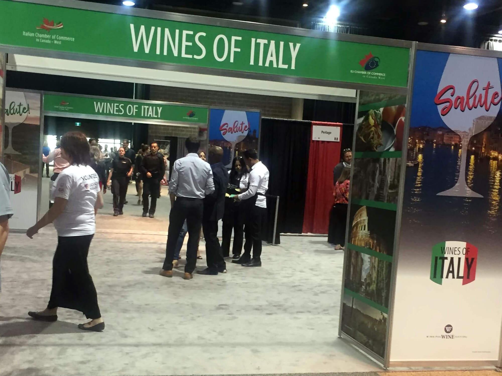 Emerging Wines Of Europe EU Chamber Of Commerce Crowd Italian Wines