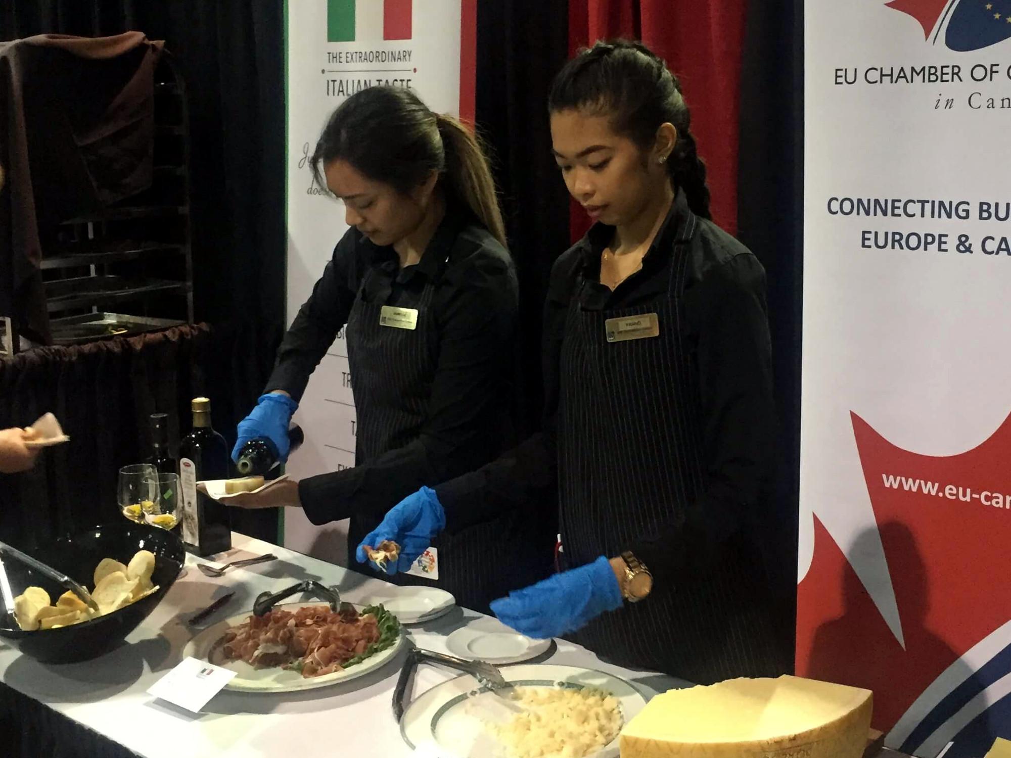 Emerging Wines Of Europe EU Chamber Of Commerce Italian Taste