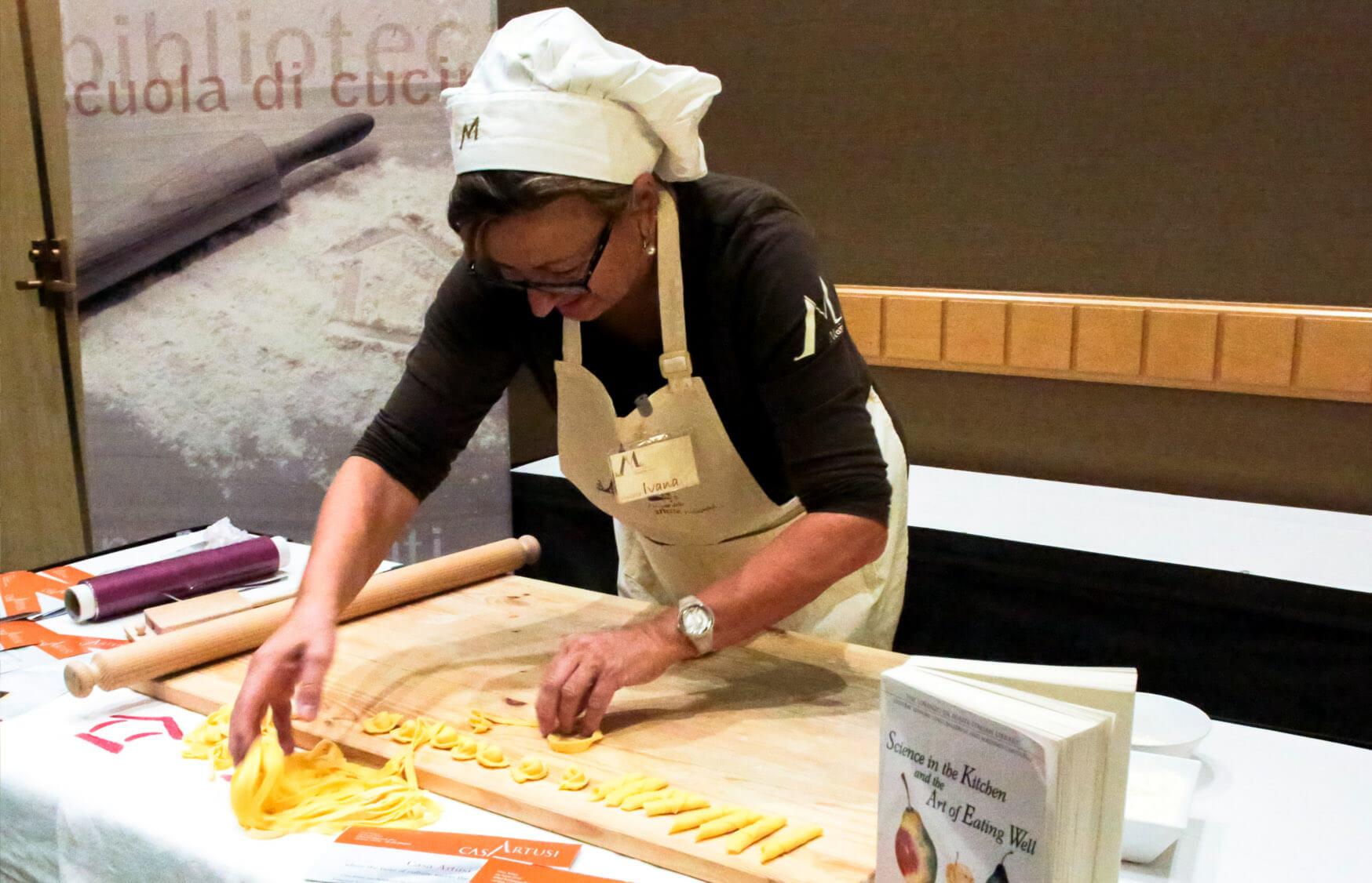 ICCBC Emilia Romagna Gala Pasta Making Show