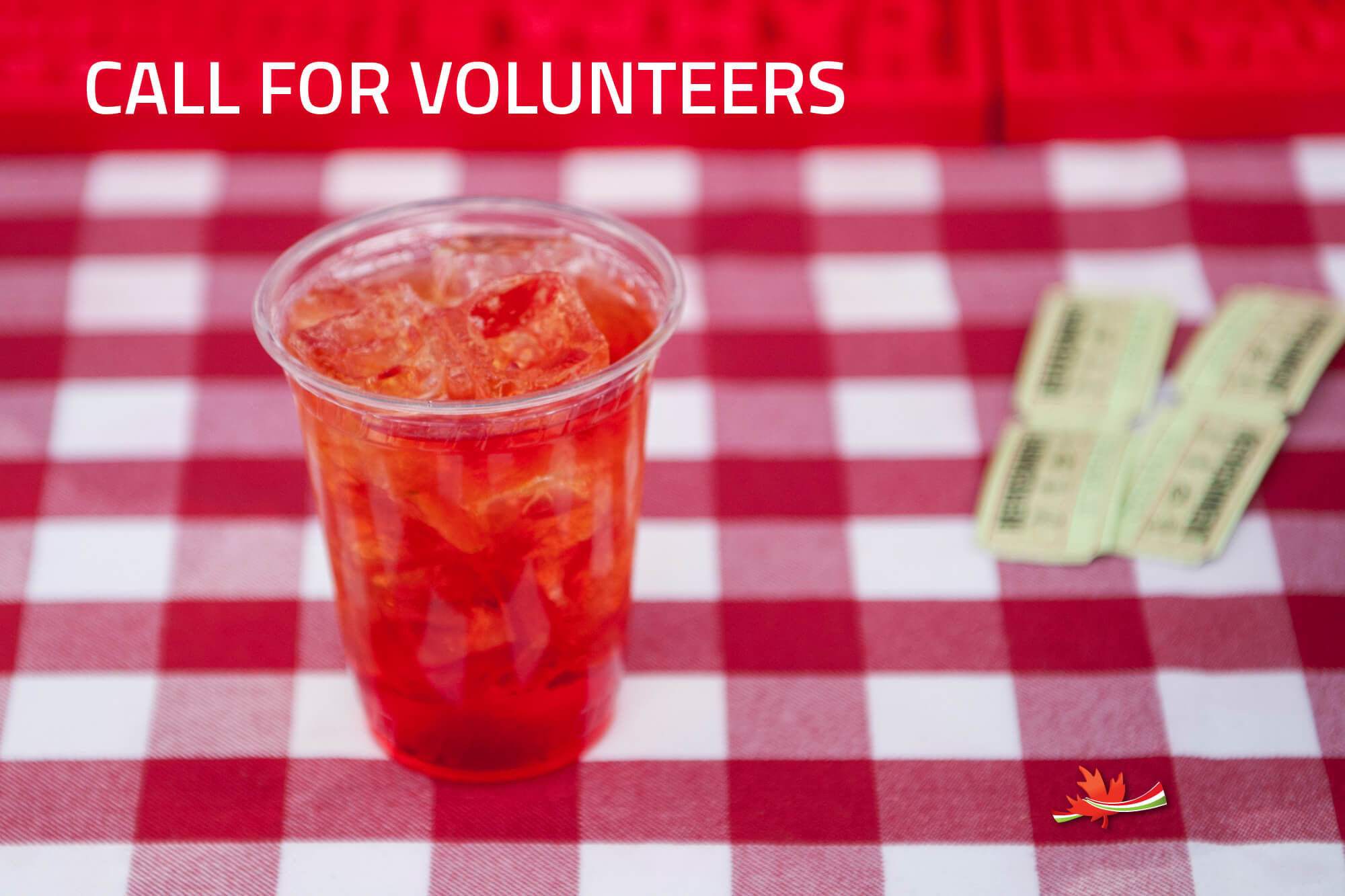 CALL FOR VOLUNTEERS VANCOUVER FOODIE