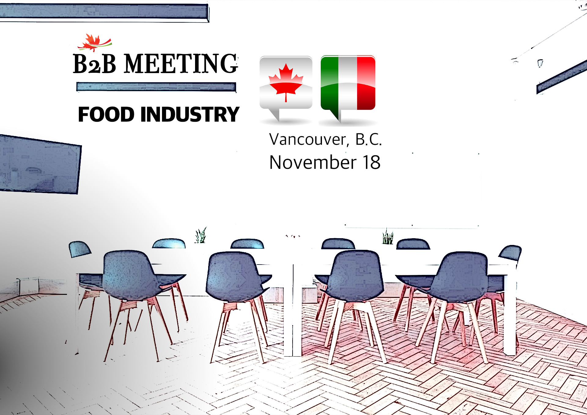 B2b Meeting Italy Canada In Vancouver Food Industry