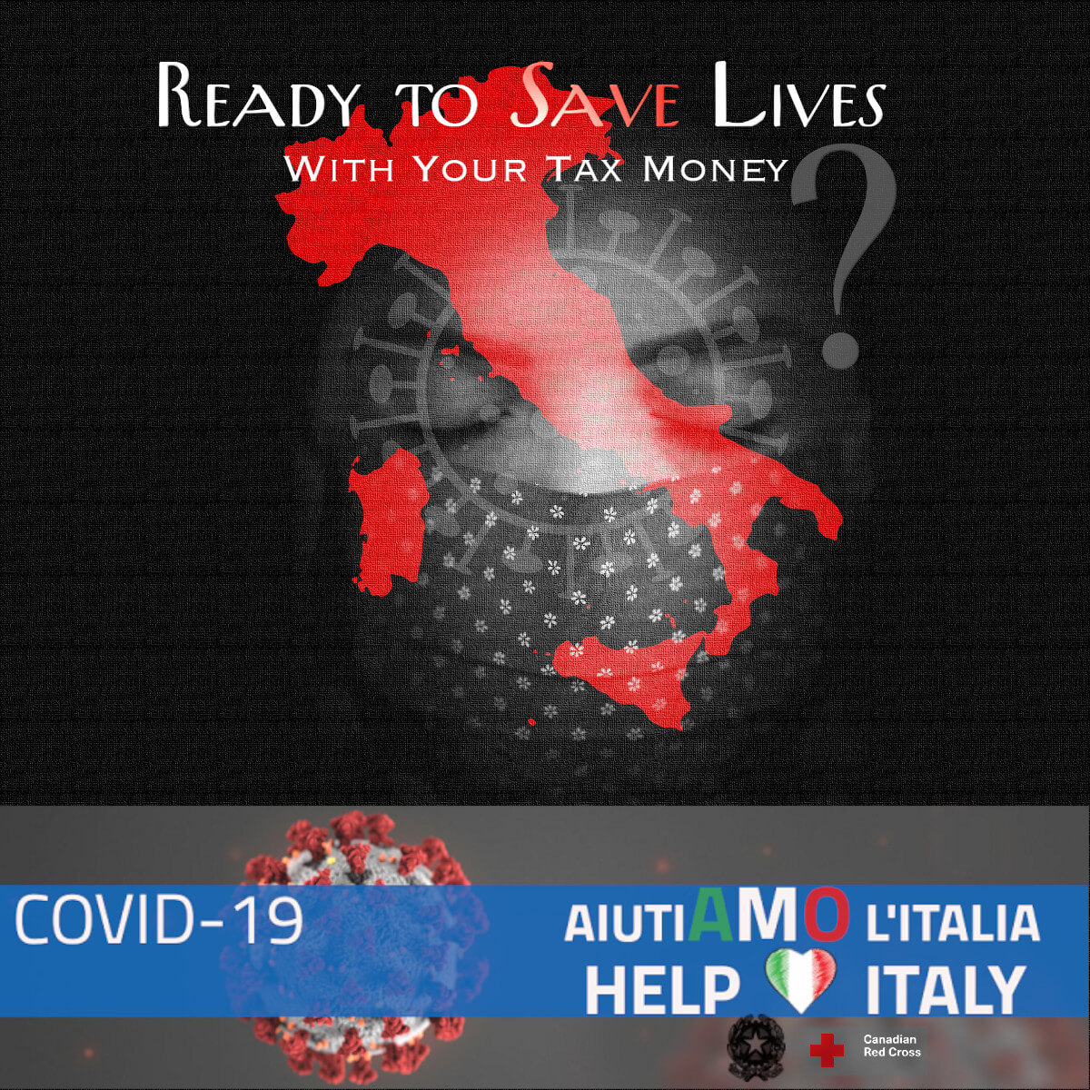 Italian Embassy In Canada Call For Donation Help Italy 2