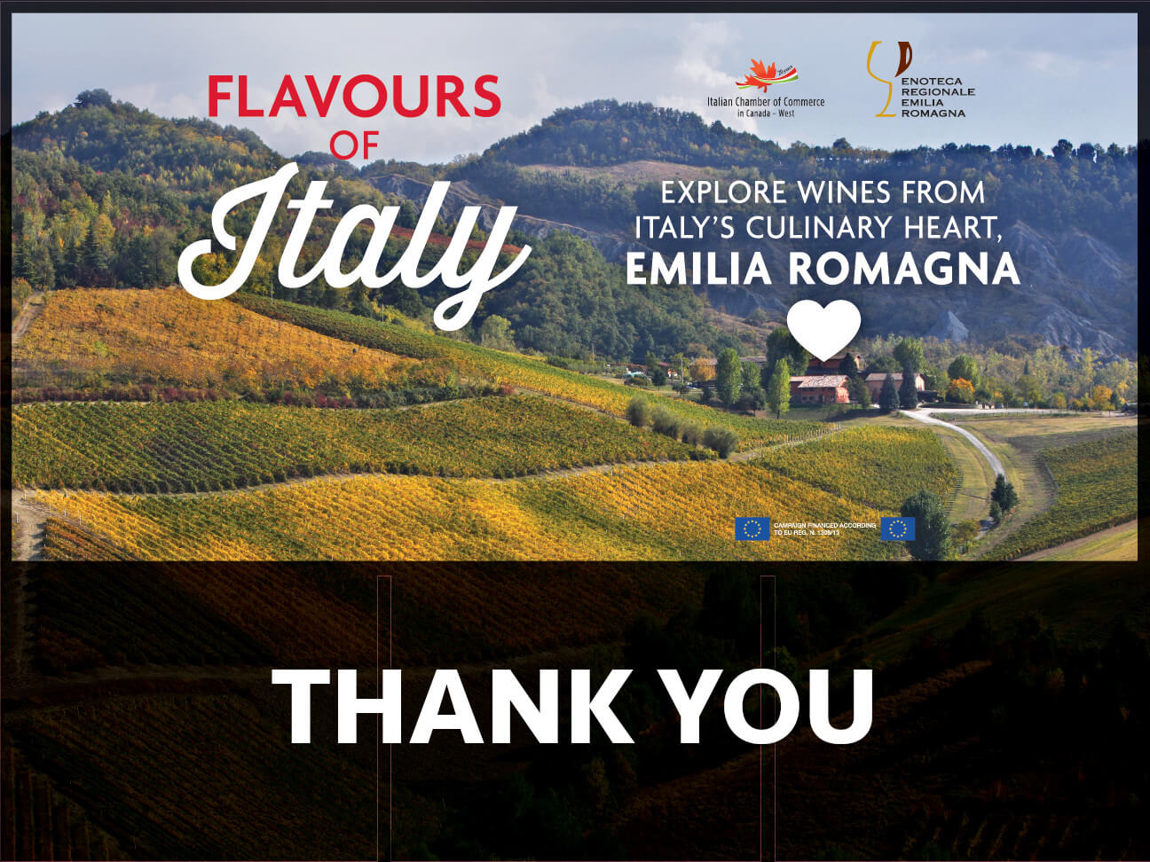 Flavors Of Italy Thank You 2