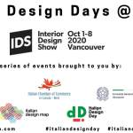 Italian Design Days Interior Design Show Vancouver