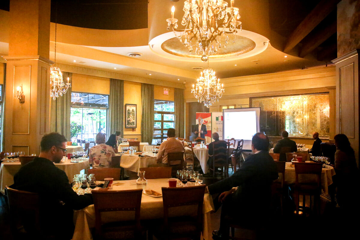 Wines Of Italy Masterclass Attendees