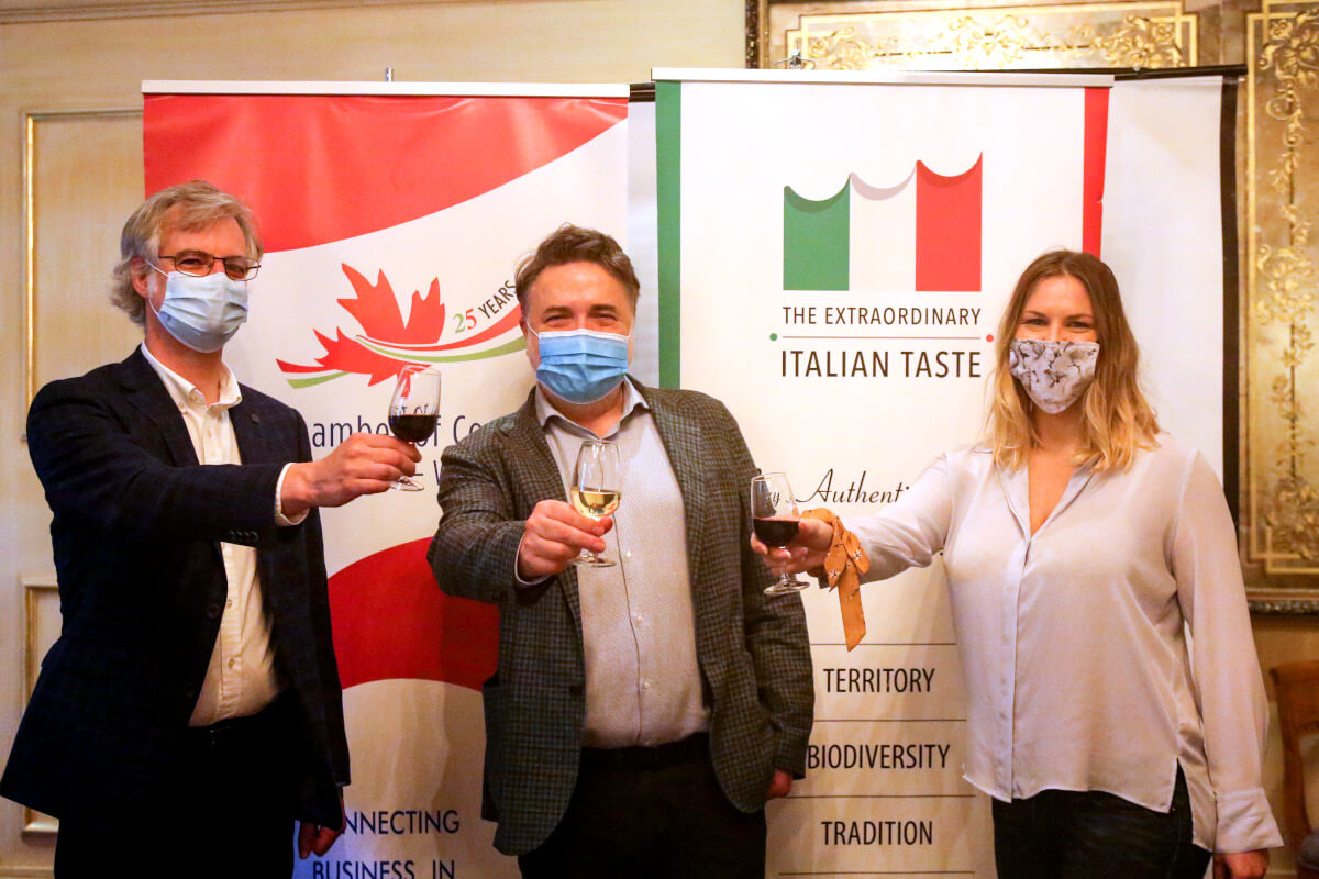 Wines Of Italy Masterclass Wine Pairing Italian Chamber Of Commrce In Canada West