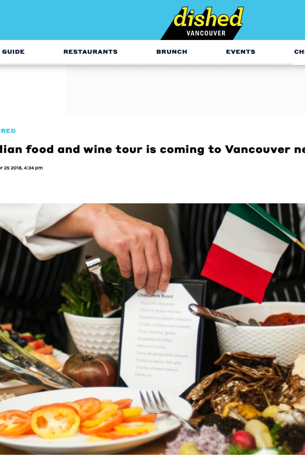 Daily Hive Vancouver Italian Chamber