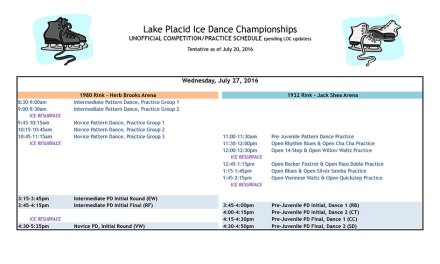 Our Combined Schedule for LPIDC 2016 is available