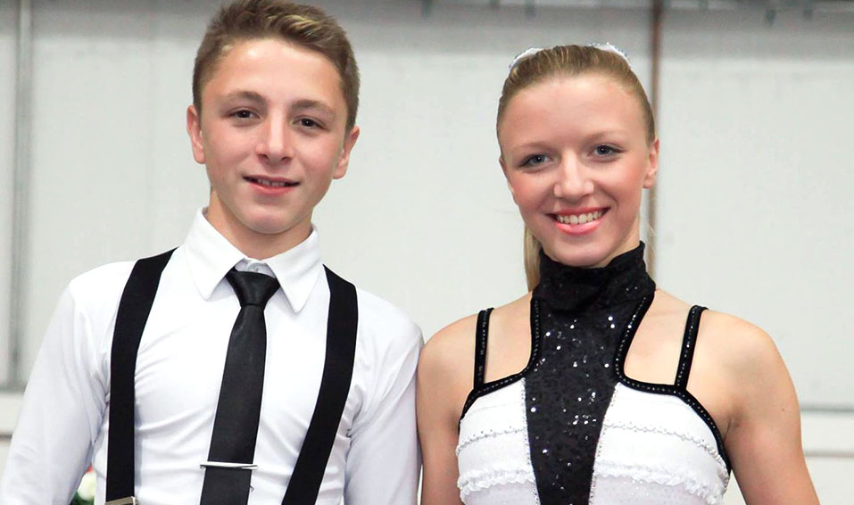 Skating Siblings: Clare & Tom Whalley
