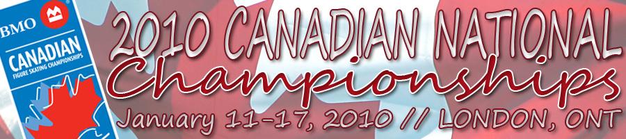 2010 Canadian National Championships – Senior Report