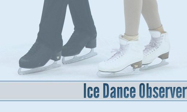 Ice Dance Observer – September 18, 2018